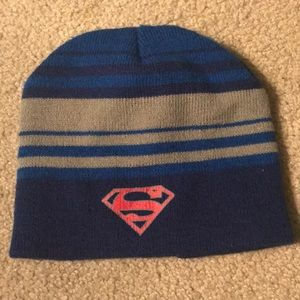 Striped Superman Beanie
